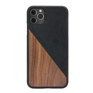 Split Case 2.0 - iPhone Case, Hülle aus Holz & Napalon-Leder - Woodcessories