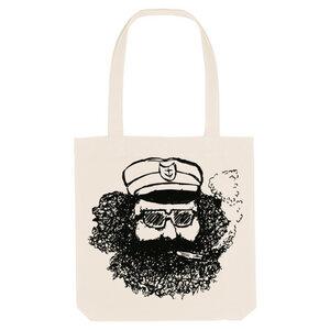 Bedruckte Shopper Tasche aus recycelter Baumwolle MATROSE - karlskopf