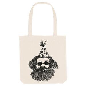 Bedruckte Shopper Tasche aus recycelter Baumwolle FASCHING - karlskopf