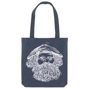 Bedruckte Shopper Tasche aus recycelter Baumwolle VIETNAMESE - karlskopf