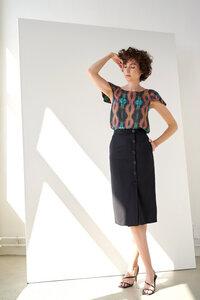 Wrap Skirt Button  - Yuna Miray