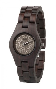 WeWood Moon Crystal Armbanduhr aus Holz - Wewood