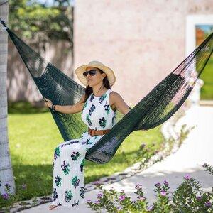 Mexikanische Netzhängematte Matrimonial Baumwolle - MacaMex