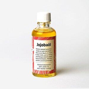 Bio-Jojobaöl, kaltgepresst (50ml) im Glas - Original Unverpackt