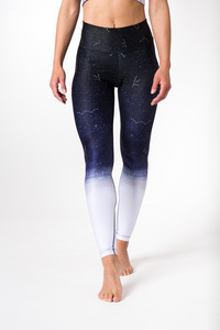 Yoga Leggings OMBRE MOON Damen Yogahose aus komfortablen Stretchmaterial - Yoga Hero