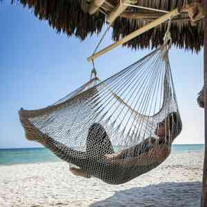 Mexikanischer Netzhängesessel Baumwolle - MacaMex