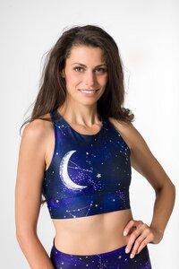 Sports Bra GALAXY Yoga BH Abnehmbare Polsterung - Yoga Hero