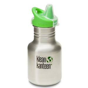 Klean Kanteen - Trinkflasche Sport Sippy 355 ml, Edelstahl - Klean Kanteen
