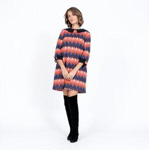 Bio-Baumwoll A-Linien-Kleid Amaryllis - Atelier SNOW