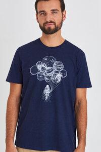 Reine Biobaumwolle- Weiches angenehmes Shirt / Astronaut mit Planeten - Kultgut