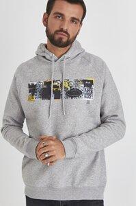 Hoodie flauschig-weich / Grafitti - Peace - Kultgut