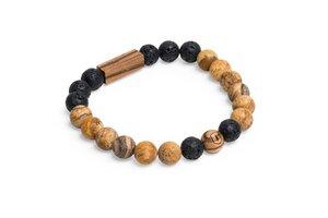 Perlenarmbänder Set - Cora & Lava | Mode Schmuck für Paare - BeWooden