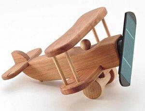 Doppeldecker aus Holz - Sol-Expert