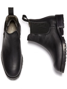 Isolierte Wasserdichte Chelsea Boots - Will's Vegan Shop