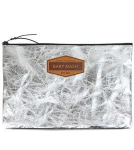 SnapPap Clutch Handtasche silber - Gary Mash