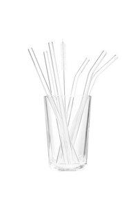 Strohhalm 6er Set aus Glas oder Metall - TRANQUILLO
