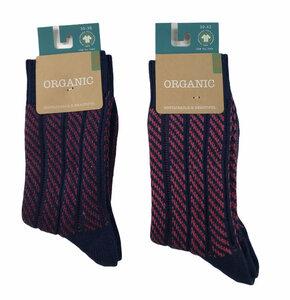 Socken Schrägstreifen - Bulus organic Textilien GmbH