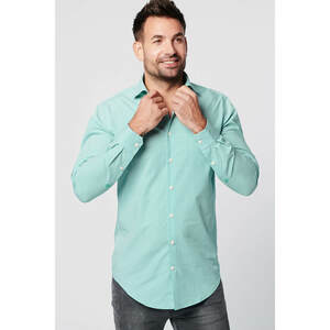 Nachhaltige Langarm Herren Hemd  Serious Green Slim Fit 100% Bio - SKOT Fashion