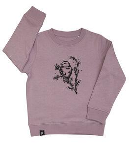 Mara Meise - Fair Wear Kinder Sweater - lila - päfjes