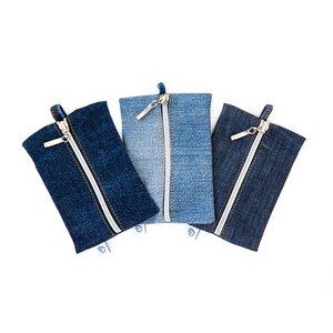 "skarabea - Schlüsseletui ""Stef"" - Jeans Upcycling - skarabea"