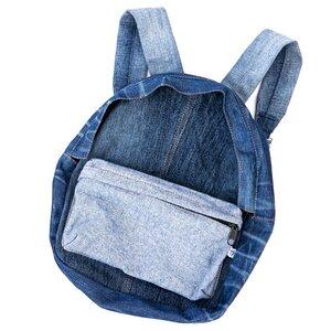"skarabea - Mini Rucksack ""Levin"" - Jeans Upcycling - skarabea"
