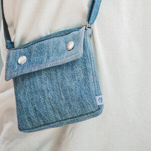 skarabea - Brustbeutel - Jeans Upcycling - skarabea