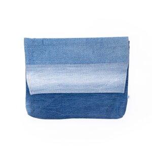 "skarabea - Laptop sleeve 15"" - Jeans Upcycling - skarabea"