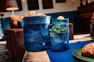 skarabea - Utensilo im 3er Set - Jeans Upcycling - skarabea