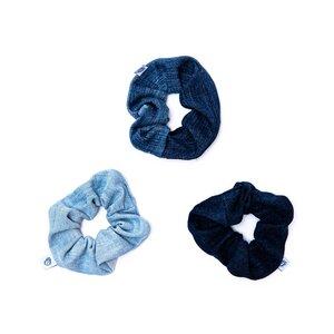 skarabea - Scrunchie 3er Set - Jeans Upcycling - skarabea