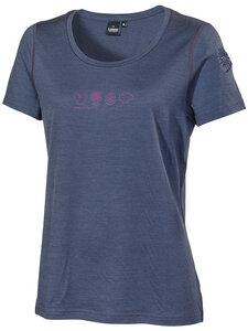Damen T-Shirt Meja reine Schurwolle - IVANHOE