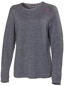 Damen Langarm-Shirt Thea Schurwolle/Tencel - IVANHOE