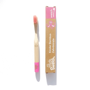 Bambus Kinder Zahnbürste - Weich - Powdy & Snatch