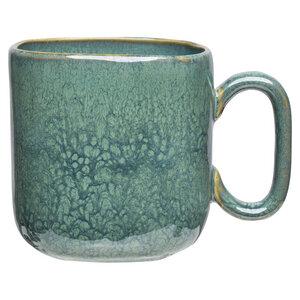 Tasse Industrial aus Steinzeug mit reaktiver Glasur, 475 ml - TRANQUILLO