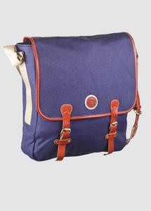 Satchel Bag Estate Blue - KnowledgeCotton Apparel