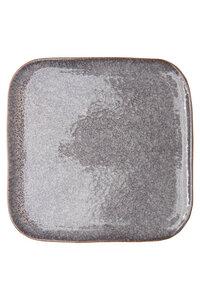 Essteller aus Steinzeug mit reaktiver Glasur, 26,5x26,5 - TRANQUILLO