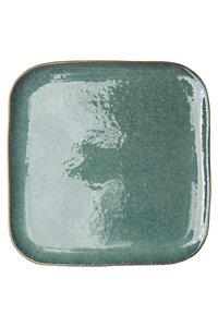 Essteller Industrial aus Steinzeug mit reaktiver Glasur, 26,5 cm - TRANQUILLO