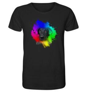 """Unisex T-Shirt aus Bio-Baumwolle """"Adopt don´t shop"""" - BVeganly"""