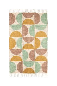 Teppich GoodWeave® zertifiziert verschiedene Muster, 90 x 150 cm - TRANQUILLO