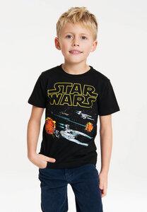 LOGOSHIRT - Star Wars - Starfighter - Kinder - Bio T-Shirt  - LOGOSH!RT