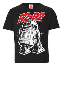 LOGOSHIRT - Star Wars - Droide - R2-D2 - Kinder Bio T-Shirt Print - Grafik - LOGOSH!RT