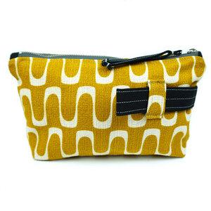 Beauty Bag / Kosmetiktasche / Federmäppchen (recycelte und Bio-Stoffe) - Burst