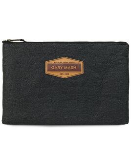 Piñatex® Clutch Handtasche schwarz - Gary Mash