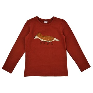 Langarm Shirt Fuchs longsleeve - Baba Babywear