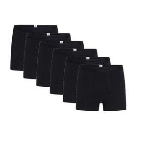 6er Pack Boxershorts - 6 pack solid colored underwear - GOTS/Vegan - KnowledgeCotton Apparel