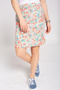 Damen Rock   Eco Vero Skirt #CAMOFLOWER white colored - recolution