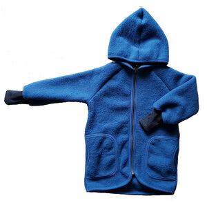 Kinder Wollfleece Jacke mit Taschen - Ulalü