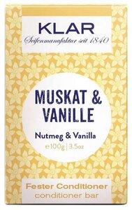 Klar fester Conditioner Muskat & Vanille für normales Haar - Klar Seifen