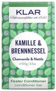 Klar fester Conditioner Kamille & Brennessel für störrisches Haar - Klar Seifen