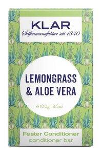 Klar fester Conditioner Lemongrass Aloe Vera für fettiges Haar - Klar Seifen