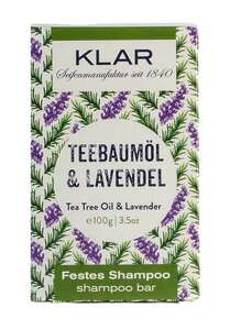 Klar Shampoo Teebaumöl Lavendel für schuppiges Haar - Klar Seifen